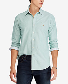 Polo Ralph Lauren Men's Big & Tall Classic Fit Cotton Sport Shirt