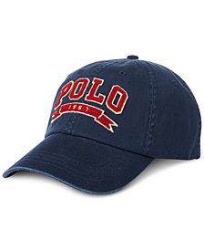 Polo Ralph Lauren Men\u0027s Cotton Twill Baseball Cap
