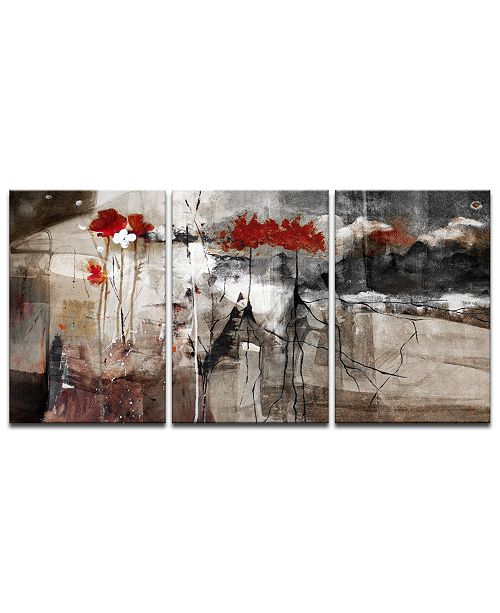 Ready2HangArt 'Abstract' 3-Pc. Canvas Art Print Set