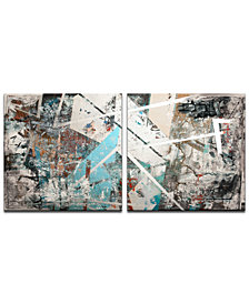 Ready2HangArt 'Abstract' Oversized 2-Pc. Canvas Art Print Set