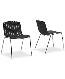 CLOSEOUT! Tauriel Dining Chair (Set of 2), Quick Ship