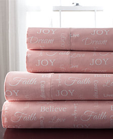 Inspirational 3-Pc. Twin Sheet Set