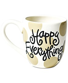 Happy Everything by Laura Johnson  Neutral Dot Happy Everything Mug