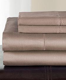 Andiamo Cotton 500 Thread Count 4-Pc. Queen Sheet Set