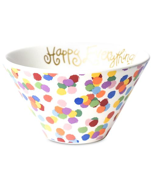 Coton Colors Happy Everything by Laura Johnson Toss Mod Small Bowl