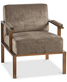 Garett Club Chair, Quick Ship