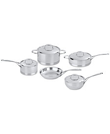 Demeyere Atlantis 9-Pc. Stainless Steel Cookware Set