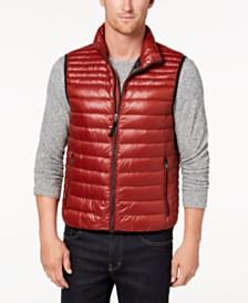 Calvin Klein Men's Packable Full-Zip Puffer Vest