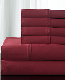 Camden Cotton 350 Thread Count 6-Pc. White Queen Sheet Set