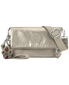 Kipling Lynne Metallic Convertible Crossbody