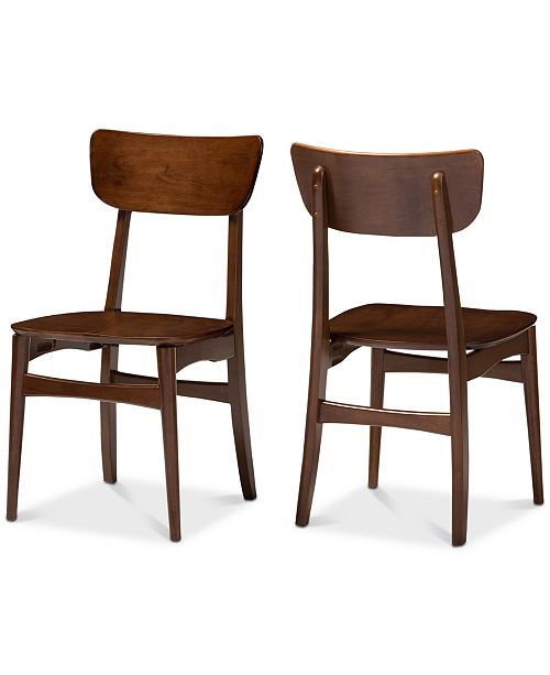 Furniture Olyffe Dining Side Chairs (Set Of 2), Quick Ship