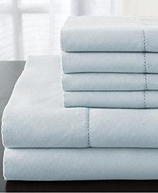 Solid Luxury 1200-Thread Count 6-Pc. Light Blue California King Sheet Set