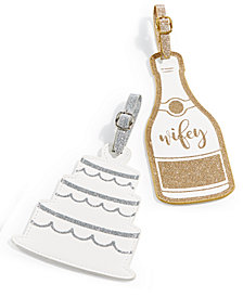 Celebrate Shop Wedding Luggage Tags