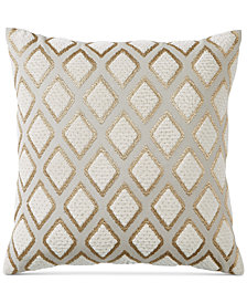 "Hotel Collection Como 18"" Square Decorative Pillow, Created for Macy's"