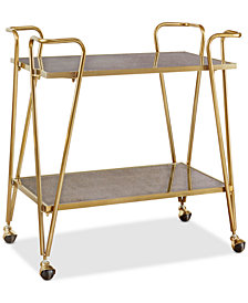 Hazel Bar Cart, Quick Ship