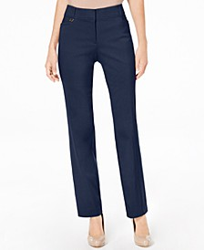 Regular and Short Length Curvy-Fit Straight-Leg Pants, Created for Macy's