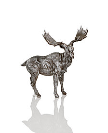 Holiday Lane Gray Moose Christmas Décor, Created for Macy's