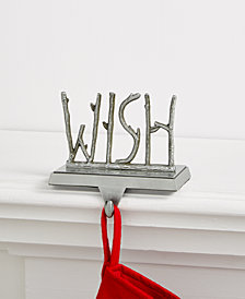 Holiday Lane Wish Stocking Holder, Created for Macy's