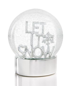 Holiday Lane Let It Snow Musical Water Globe, Created for Macy's