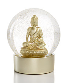 Holiday Lane Buddha Water Globe, Created for Macy's