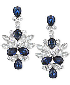 Jewel Badgley Mischka Crystal & Stone Drop Earrings