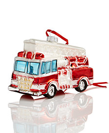 Holiday Lane Fire Truck Ornament, Created for Macy's