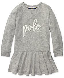 Polo Ralph Lauren Little Girls French Terry Dress