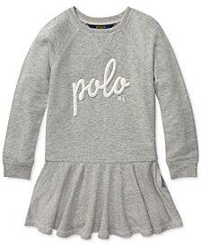 Polo Ralph Lauren Toddler Girls French Terry Dress