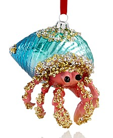 Seaside Hermit Crab Ornament Created for Macy's