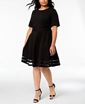 4c71440e257 Calvin Klein Plus Size Dresses  Shop Calvin Klein Plus Size Dresses ...