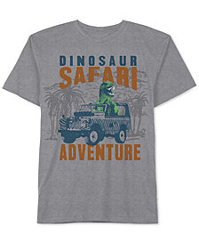 Jem Little Boys Dinosaur Safari Graphic-Print T-Shirt