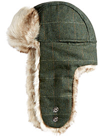 Woolrich Men's Plaid Trooper Hat, Created for Macy's
