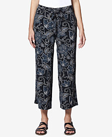Sanctuary Calypso Cropped Wide-Leg Pants