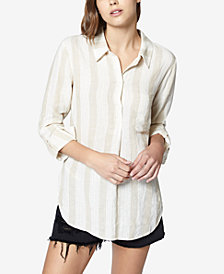 Sanctuary Milo Striped Shirt