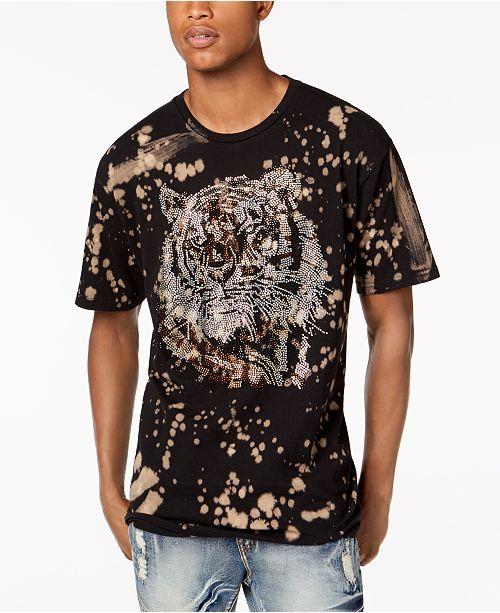 88bcefcd2 Reason Men's Rhinestone Tiger Splatter Graphic T-Shirt & Reviews ...