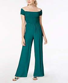 GUESS Lily Off-The-Shoulder Jumpsuit