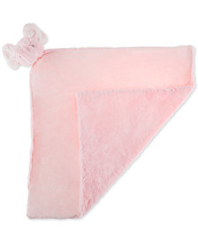 Trademark Global Happy Trails Elephant Stuffed Animal Security Blanket