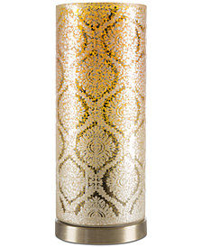 Lavish Home Amber LED Table Lamp