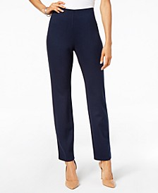 Hollywood Ponte-Knit Pull-On Pants in Regular and Short Length, Created for Macy's