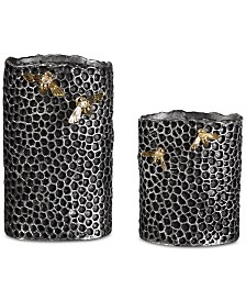 Hive Vases, Set of 2