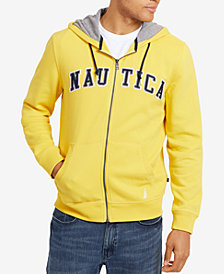 Nautica Men's Full-Zip Logo Hoodie, Created for Macy's