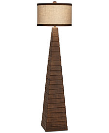 CLOSEOUT! Pacific Coast Pyramids Floor Lamp