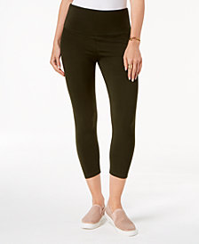 Style & Co Cropped Tummy-Control Leggings, Created for Macy's