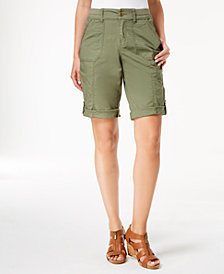 Style & Co Convertible Cargo Shorts, Created for Macy's