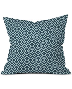 Deny Designs Khristian A Howell Nina In Navy Throw Pillow 6594020