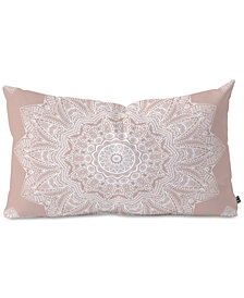 Deny Designs Monika Strigel Serendipity Rose Oblong Throw Pillow