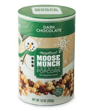 Harry & David Moose Munch Gourmet Popcorn Canister (Dark Chocolate)