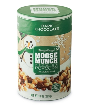 Harry & David Moose Munch Gourmet Popcorn Canister (Dark Chocolate)
