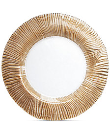 Jay Imports American Atelier Nilo Rose Gold Platina Charger Plate