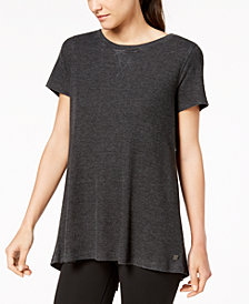 Calvin Klein Performance Lace-Up-Back Top